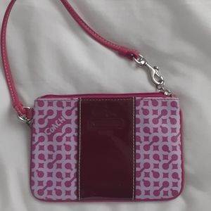 COACH Pink Wrislet Authentic